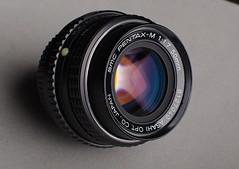 Pentax M 50mm f1.7 SMC lens (Philip Osborne Photography) Tags: pentax m f 17 smc