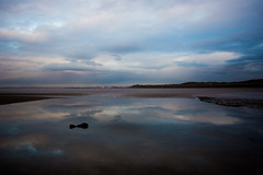 Leasowe at Low Tide (juliereynoldsphotography) Tags: sunset reflections lowtide leasowe juliereynolds juliereynoldsphotography