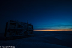 Nautical Twilight at South Pole (breakfast_pizzas) Tags: winter sunset sun snow cold ice station set clouds canon stars twilight south pole nautical noaa geographic southpole aro auroras southpolestation nationaloceanicandatmosphericadministration 60d nauticaltwilight canon60d amundsenscott geographicsouthpole amundsenscottstation atmosphericresearchobservatory