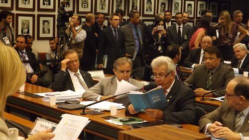 Antônio Roberto durante reunião do Conselho de Ética da Câmara