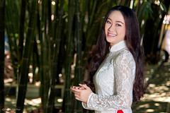 Ao Dai Viet Nam (Huỳnh Tấn Phát) Tags: vietnam saigon portrait aodai culture studio lighting beautiful cute outdoor