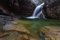 Riera de L'Estiula (Gorg de la Bauma) (Ernest Bech) Tags: catalunya girona ripollès camdevànol river riu riera rio saltdaigua waterfall cascada