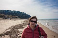 IMG_1992 (Antonio Todesco) Tags: mamma mom gargano pulia puglia calenella peschici mare spiaggia sea beach