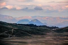 The trail going over the new lava on Fimvörðuháls trail, Iceland (thorrisig) Tags: 17082012 fimmvörðuháls hattfell himinn merkurtungnahaus birta fjall fjöll slóði vegur víðerni víðátta mountain mountains iceland ísland island íslensknáttúra icelandicnature landscape landslag thorrisig thorfinnursigurgeirsson þorrisig thorri thorfinnur þorri þorfinnursigurgeirsson sigurgeirsson sigurgeirssonþorfinnur dorres outdoors southoficeland suðurland rjúpnafell