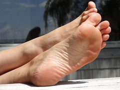 JanF208sized (thermosome) Tags: foot feet mature soles wrinkled milf