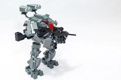 Trauma (yudho w) Tags: lego legomoc legomilitary mech mecha robot myowncreation army
