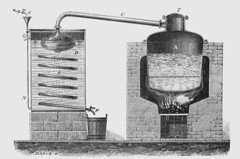 Alambic à double fond pour la distillation du marc de raisin (HCLM) Tags: vin vigne alambic alcool