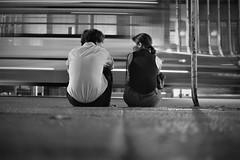 (Claudio Blanc) Tags: street streetphotography fotografiacallejera fotografianocturna buenosaires bw bn blancoynegro blackandwhite argentina night noche nocturna