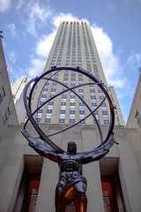 The Rockefeller Centre NYC (thomasward5) Tags: skyscraper sky lol center rockefellercentre centre rockefeller york new newyork rock