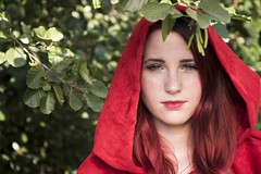 Chaperon rouge (Chlo Hey) Tags: cosplay chaperon rouge maquillage costume