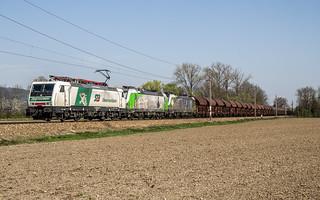 189 822, 193 831 und 218 bei Herzogenburg (2.4..17)