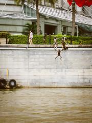 新加坡河畔 Riverside of Singapore River (良風徐徐) Tags: ricoh gr lightroom singapore 新加坡 新加坡河 singaporeriver