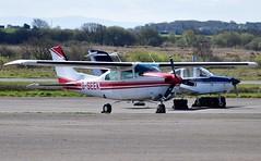 G-SEEK (goweravig) Tags: gseek cessna turbocenturion t210n swansea wales uk swanseaairport visiting aircraft roundtheworld