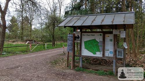 Am Forsthaus im Ober-Olmer Wald