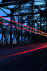 The City Breathes (mharty98) Tags: portland bridge slowshutter show motion lightpainting cars traffic interstate5