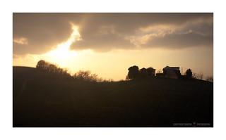 Sunset in Monferrato