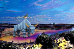 Blue Ox and Dodo (Rusty Russ) Tags: big blue ox dodo bird scenery landscape sky color real true photoshop flickr google bing daum yahoo image stumbleupon facebook getty national geographic magazine creative creativity montage composite manipulation hue saturation flickrhivemind pinterest reddit flickriver t pixelpeeper blog blogs openuniversity flic twitter alpilo commons wiki wikimedia worldskills oceannetworks ilri comflight newsroom fiveprime photoscape winners all people young photographers paysage artistic photo