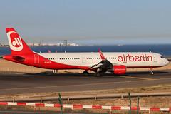 D-ABCR_01 (GH@BHD) Tags: dabcr airbus a321 a321200 ab ber airberlin ace gcrr arrecifeairport arrecife lanzarote airliner aircraft aviation sharklets