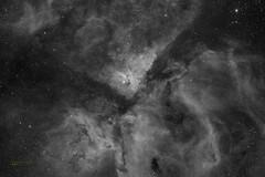 Great Nebula in Carina (José Joaquín Pérez) Tags: ngc3372 halpha nebula ccd astroaustral great carina astrometrydotnet:id=nova1993832 astrometrydotnet:status=solved