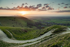 The Dyke (S l a w e k) Tags: southdowns nationalpark devilsdyke countryside rural landscape sunset sussex england britain uk rolling hills landmark evening spring springtime