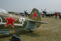 "Yak-9U 1 • <a style=""font-size:0.8em;"" href=""http://www.flickr.com/photos/81723459@N04/33277978603/"" target=""_blank"">View on Flickr</a>"