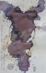 Arbeit 50 (Harald Reichmann) Tags: niederösterreich arbeit50 wein alkohol rotwein erde muster signatur energie dynamik magie zweigelt r visualisierung kraft papier