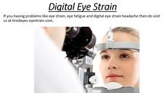 Digital Eye Strain - tiredeyes-eyestrain.com (robalddicardo) Tags: digital eye strain