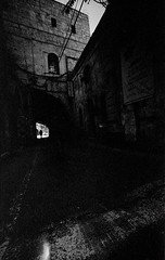 Jerusalem. Old City. (Valentine Kleyner) Tags: leica heliar voigtlander jerusalem israel rangefinder bw street city rollei