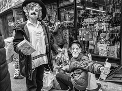 Purim, Crown Heights (Roy Savoy) Tags: bw blackandwhite bnw streetphotography street streetphotographer city nyc people roysavoy newyorkcity newyork blacknwhite streets streettog streetogs ricoh gr2 candid flickr explore candids photography 28mm nycstreetphotography gothamist tog mono monochrome flickriver snap digital monochromatic blancoynegro
