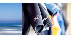 Surfin' Gear (red stilletto) Tags: apollobay apollobayvictoria apollobaybeach thegreatoceanroad thegreatoceanroadvictoria greatoceanroad greatoceanroadvictoria sea ocean surf surfing summer wetsuit wetsuits