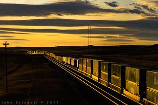 Sunset West of Cheyenne