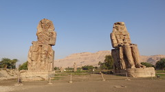 Colossi of Memnon (Rckr88) Tags: colossi memnon colossiofmemnon luxor egypt africa travel travelling ancient ancientegypt relic relics pharoah pharoahs statue statues