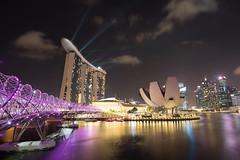 Singapore Marina Bay Helixbridge (PaulDNL) Tags: green marina bay sands marinabay marinabaysands singapore helixbridge helix bridge