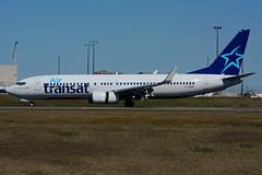 F-GZHF (Air Transat) (Steelhead 2010) Tags: airtransat transavia boeing b737 b737800 yyz freg fgzhf