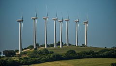 Modern Spanish Wind Turbines