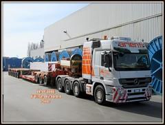 Mercedes-Benz Actros 4160 (DaveFuma) Tags: mercedes benz actros autocarro camion trasporto eccezionale truck wide load schwertransporte lkw