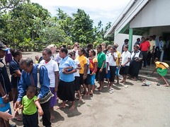 Post-church hand shake (jwbwel) Tags: papua new guinea png thelastfrontier pacific pacificisland tropical