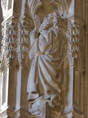 St Bartholomew (Aidan McRae Thomson) Tags: worcester cathedral worcestershire medieval carving statue sculpture