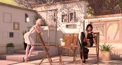 I can't talk any sense into her (Alexa Maravilla/Spunknbrains) Tags: vanityhair treschic fashion famefemme empire n21 uber mowie serenitystyle shutterfield decorjunction ariskea unkindness collabor88 ccdesign gumisflowershop littlebranch secondlife outdoors people photography female models wasabipills