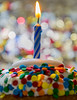 Happy 10 Years! (wendel68) Tags: celebrate flame macromondays birthday candle confetti happy10years party bokeh cupcake