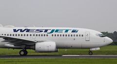 Westjet Boeing 737 C-GWCN (megatroncox) Tags: westjet canada newfoundland boeing b737