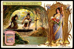 Liebig Tradecard S835 - Atala (cigcardpix) Tags: tradecards advertising ephemera vintage liebig chromo