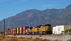 2014-09-01 San Bernardino CA UP8774 SD70ACe (maximaguy97) Tags: train railroad locomotive emd electromotive up unionpacific up8874 sd70ace sd70ah cajonsubdivision cajonpass sanbernardino california intermodal