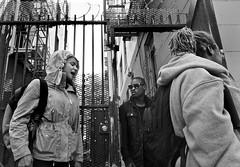 Jones Street, Tenderloin - San Francisco, CA (Rex Mandel) Tags: sanfrancisco sf tenderloin tl street streetphotography jonesstreet blackandwhite bw story monochrome scene streetscene