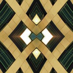 Diamond behind Bars (Ed Sax) Tags: diamant hintergittern edsax abstrakt berlinsession gold yellow gelb grün beige braun muster pattern texture kunst kunstphotographie art photokunst photoart