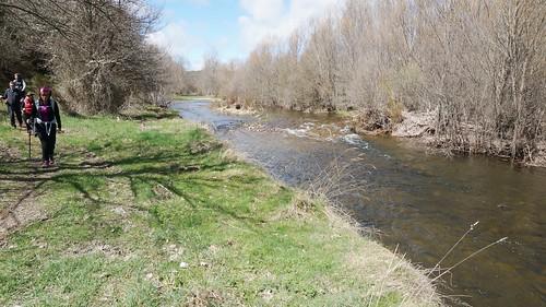 Senderismo Acompañando Al Río Omaña en León Fotografía Tomás Sanz