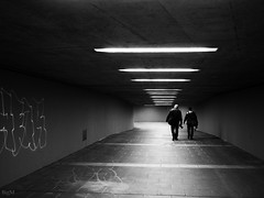 Fotografen unter sich (-BigM-) Tags: deutschland germany baden württemberg stuttgart bad cannstatt hall fame grafitti tunnel licht schatten bigm