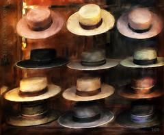 Fashionistas (sbox) Tags: hats spain fashion painterly painting digitalart digitalpainting colours españa seville sevilla netartii exoticimage