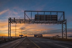 M2 Highway East, Johannesburg (Paul Saad) Tags: night johannesburg lights sunset sunrise dusk dawn nikon city capital sun house clouds cloud sky outdoor street building skylines morning pano panorama panoramic south africa long exposure