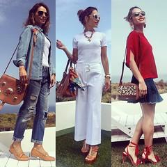 Resumen de la Semana. Con cuál look te quedas? Feliz finde a todos! 😘❤️😍💋 #elblogdemonica #outfit #happy #streetstyle #fashion #fashionblogger #robertoverino #tous #mango #bocage #ootd #instapic #instagram #instacool #i (elblogdemonica) Tags: ifttt instagram elblogdemonica fashion moda mystyle sportlook springlooks streetstyle trendy tendencias tagsforlike happy looks miestilo modaespañola outfits basicos blogdemoda details detalles shoes zapatos pulseras collar bolso bag pants pantalones shirt camiseta jacket chaqueta hat sombrero